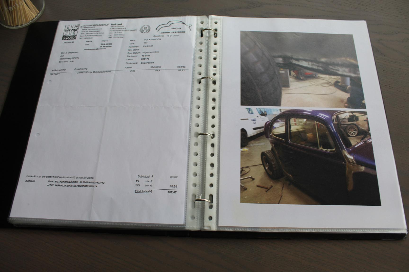 Volkswagen-Kever 1300 (1965) Origineel Nederlandse auto-25