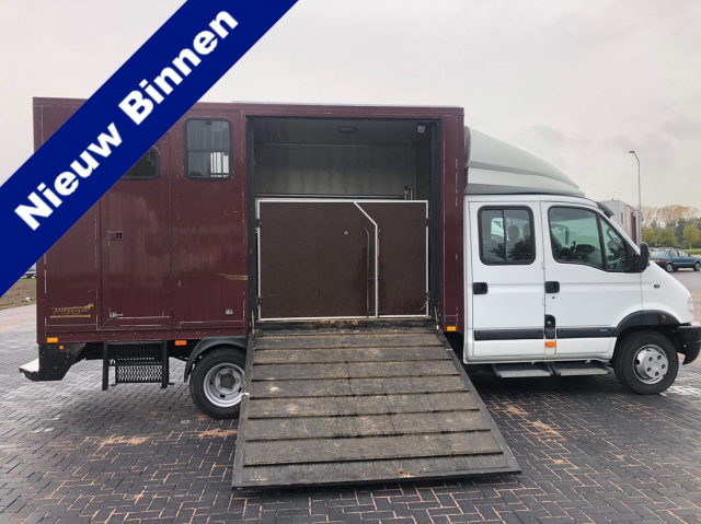 Renault-MASCOTT 130-65 Paardenvrachtwagen,transporter, motorcross, tiny house