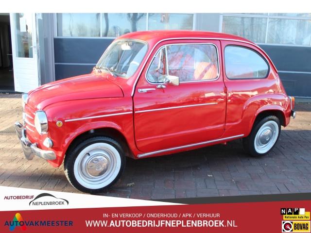 Fiat-zastava 750 uit 1963 Uniek