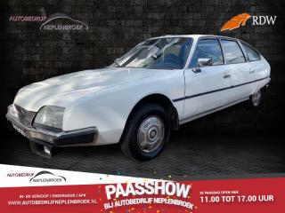 Citroën-CX-CX 2200 Pallas uit 1976. Vrij van wegenbelasting.